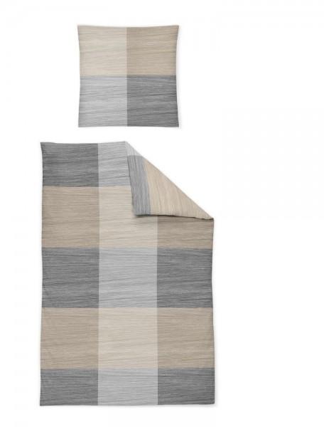 Betten-Guenther Irisette Feinbiber Bettwäsche Nubis Farbe Kiesel1_1