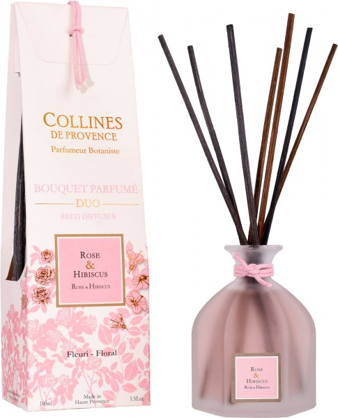 Betten Guenther-Collines-Rose+Hibiskus-Aromabouquet