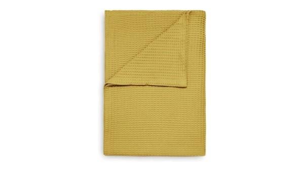 Betten Guenther Heckett Lane Waffel-Plaid Fb. Curry Yellow_1_1