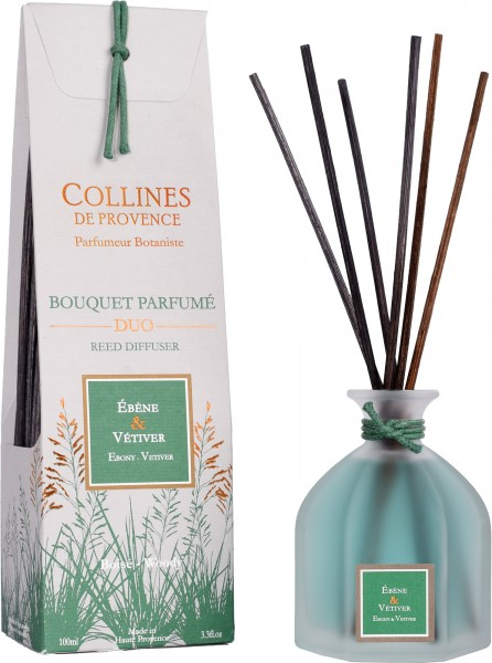 Betten Guenther-Collines-Ebenholz+Vetiver-Aromabouquet
