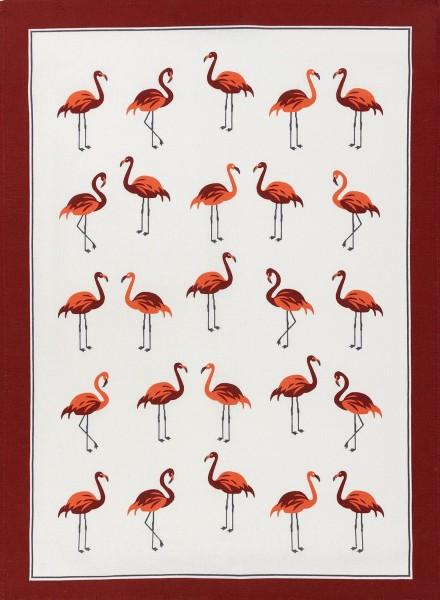 Betten Günther Kracht Geschirrtuch Flamingos 50x70 cm_1_1